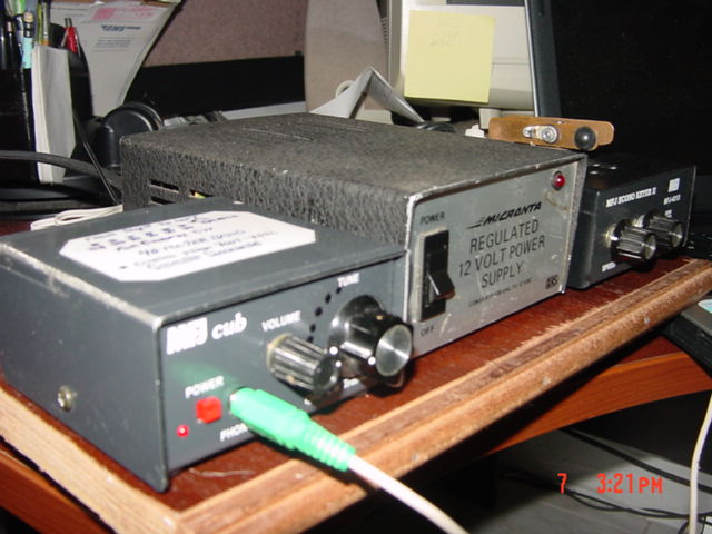 40 Meters QRP Station
